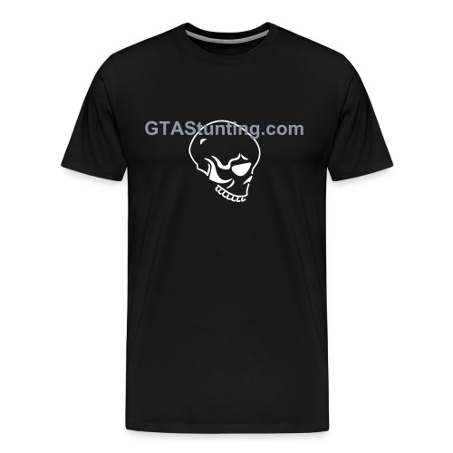 GTAS Skullhead Black - Men's Premium T-Shirt