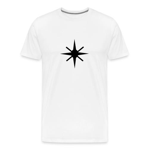 Infinity Star Tee White - Men's Premium T-Shirt