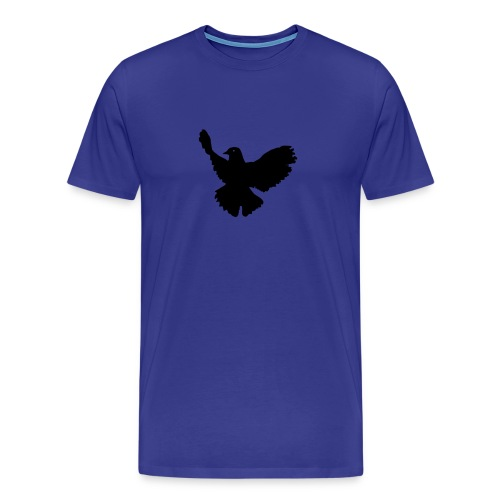 Infinity Dove Tee Blue - Men's Premium T-Shirt