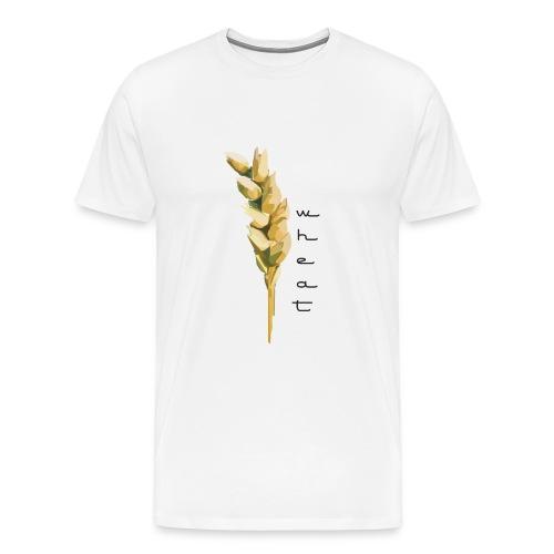 White Wheat Shirt - Men's Premium T-Shirt