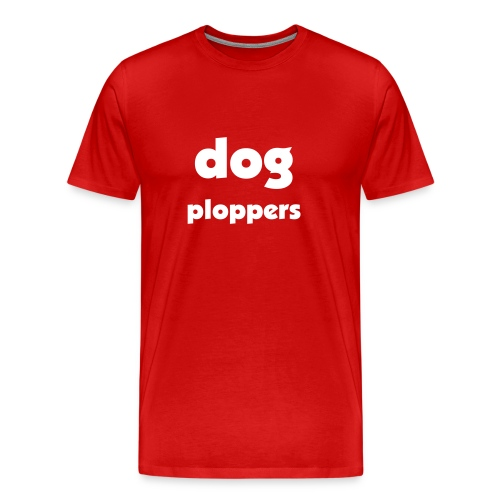 dog ploppers - Men's Premium T-Shirt