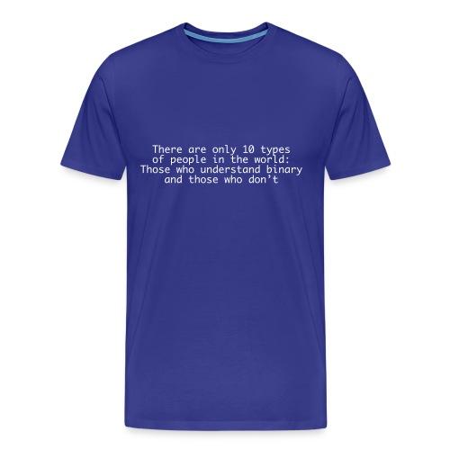 2 kinds of people - Men's Premium T-Shirt