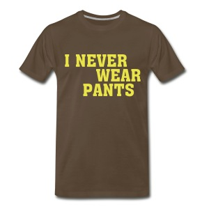 Pantless - Men's Premium T-Shirt