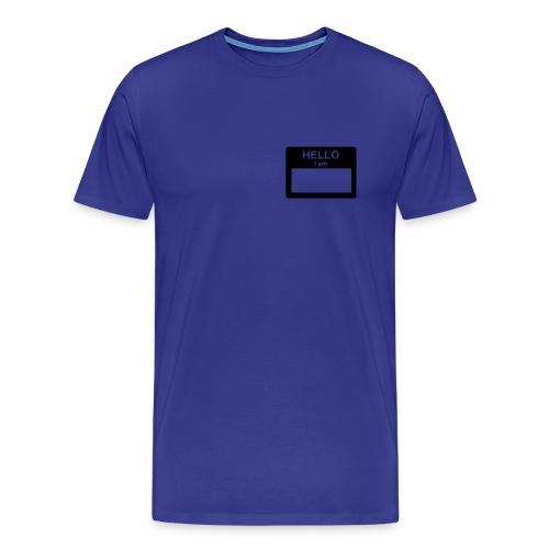 Hello my Name is... - Men's Premium T-Shirt