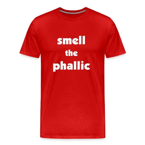 smell the phallic - Men's Premium T-Shirt