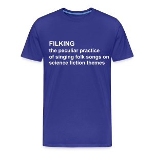 Filking T - Blue - Men's Premium T-Shirt