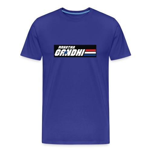 MOUS Gandhi Blue T - Men's Premium T-Shirt
