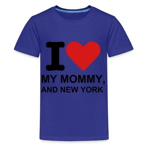 I Love Mom Shirt! - Kids' Premium T-Shirt