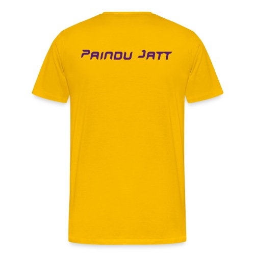 Paindu Jatt - Men's Premium T-Shirt