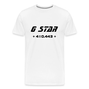 G Star (White) - Men's Premium T-Shirt