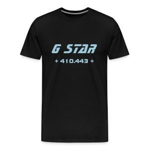 G Star (Black/Blue) - Men's Premium T-Shirt