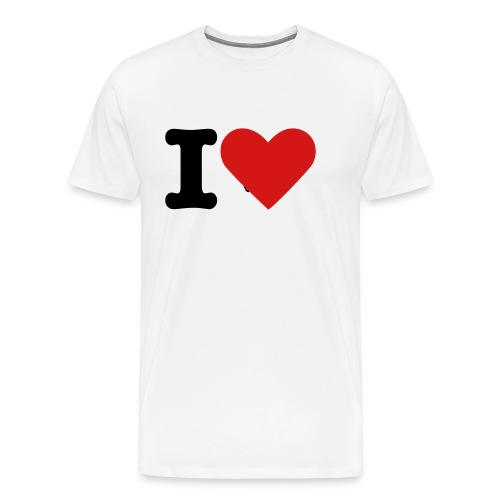 I Love Pirates - Men's Premium T-Shirt
