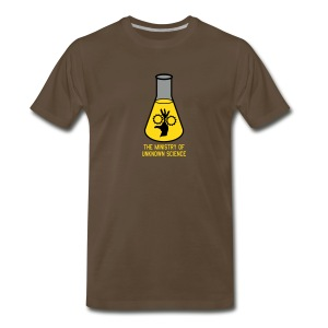 MOUS Flask Black T - Men's Premium T-Shirt