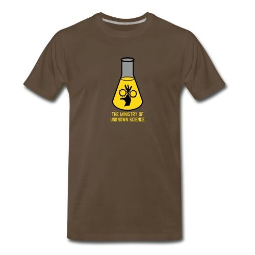 MOUS Flask Black T - Men's Premium T-Shirt