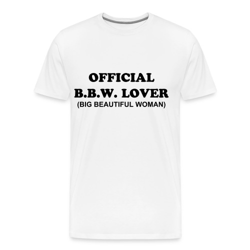 OFFICIAL B.B.W. LOVER - Men's Premium T-Shirt