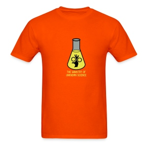MOUS Flask Orange T - Men's T-Shirt