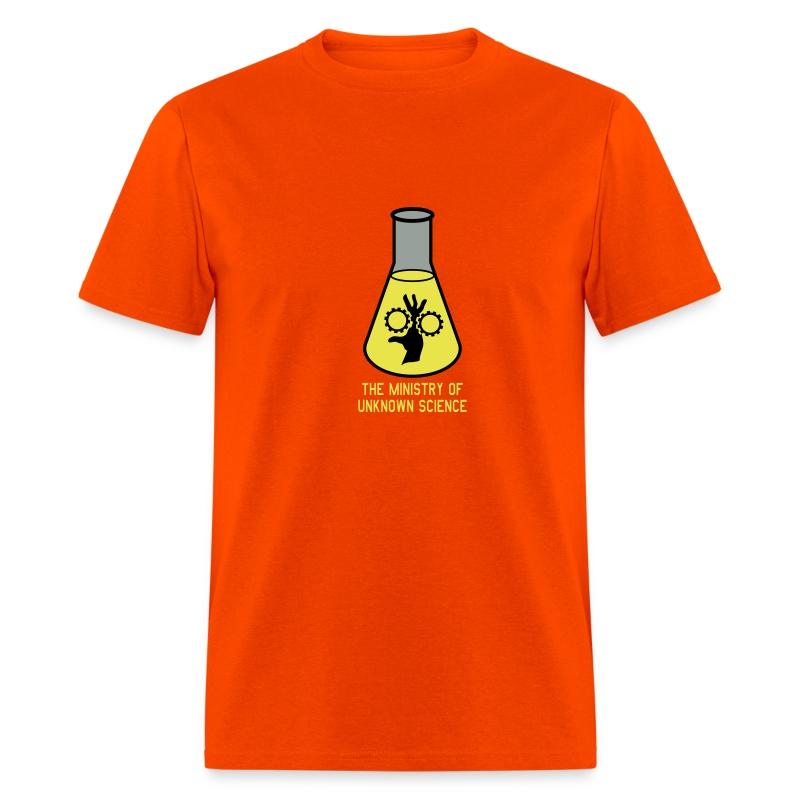 MOUS Flask Orange T - Men's T-Shirt