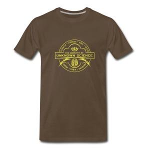 MOUS Logo Black T (shiny logo) - Men's Premium T-Shirt