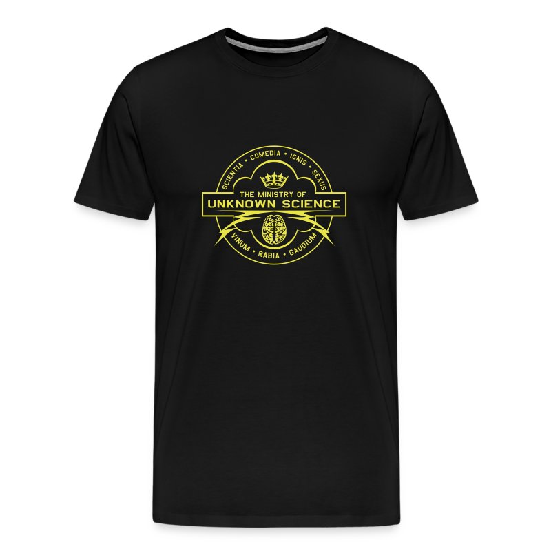 MOUS Logo Black T (shiny logo) T-Shirt | Ministry of Unknown ...