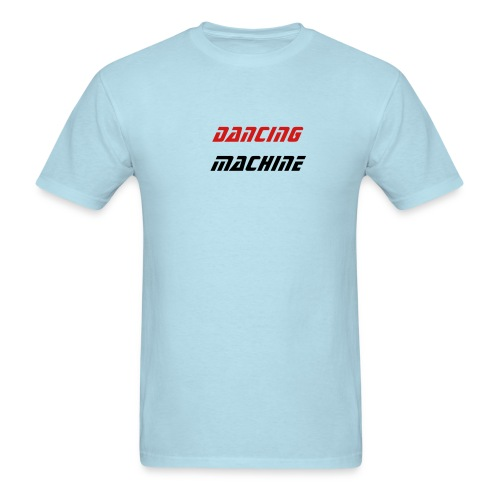 DANCING MACHINE sky blue men's - Men's T-Shirt