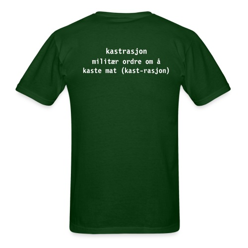 Men's T-Shirt - På Stedet Hvil (Norwegian Army)