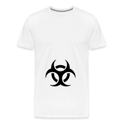 bio T w/bl - Men's Premium T-Shirt