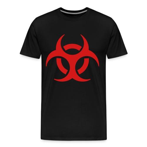 BioHazzard on black T - Men's Premium T-Shirt