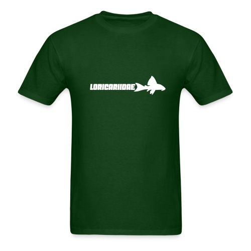 Loricariidae - small with text - Men's T-Shirt