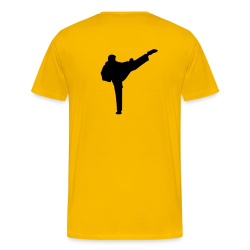 Martial Arts Workout T - Men's Premium T-Shirt