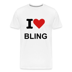 I love Bling T Shirt - Men's Premium T-Shirt