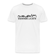 T-Shirts ~ Men's Premium T-Shirt ~ City (white)