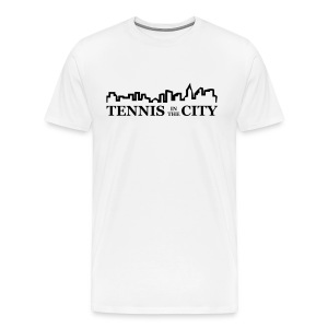 City (white) - Men's Premium T-Shirt