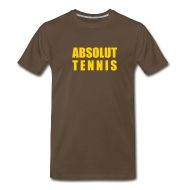 T-Shirts ~ Men's Premium T-Shirt ~ Absolute (chocolate)
