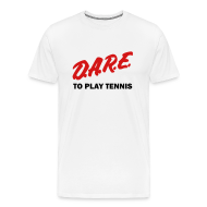 T-Shirts ~ Men's Premium T-Shirt ~ Dare (white)