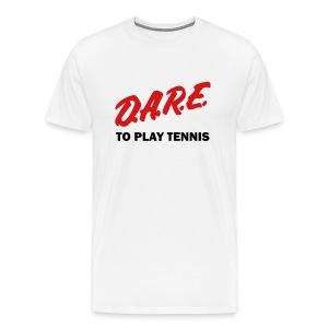 Dare (white) - Men's Premium T-Shirt