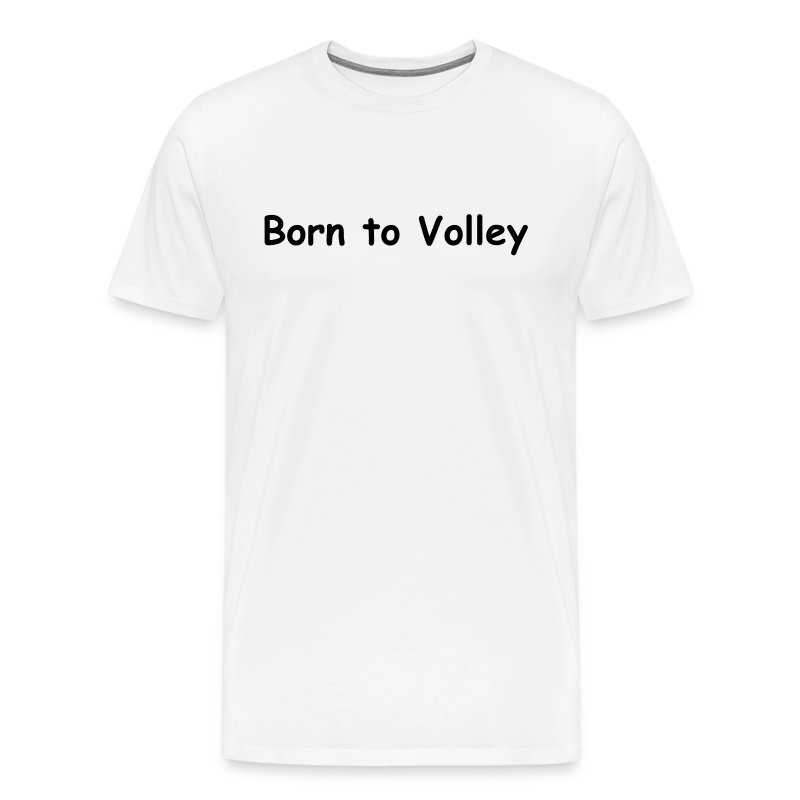 Volley (white) - Men's Premium T-Shirt