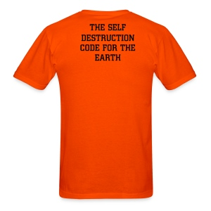 Self Destruction code - Men's T-Shirt
