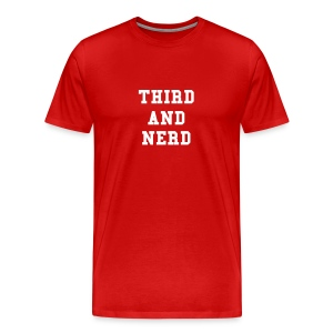 Third and Nerd - Men's Premium T-Shirt