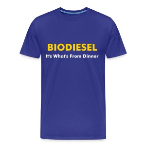 Official Higher Pie Biodiesel Shirt - Men's Premium T-Shirt