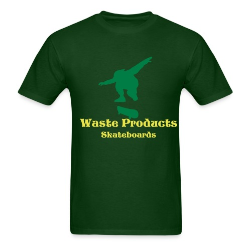 WP Silhouette Tee-Forest Green - Men's T-Shirt
