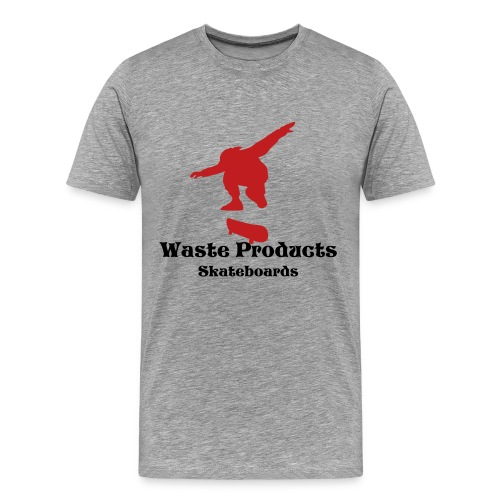 WP Silhouette Limited Tee-Grey - Men's Premium T-Shirt