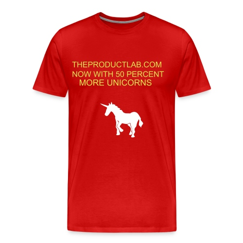 MORE UNICORNS - Men's Premium T-Shirt