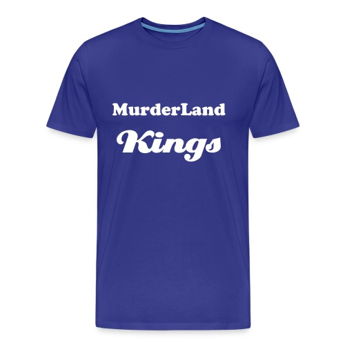 MurderLand Kings (Blue/White) - Men's Premium T-Shirt