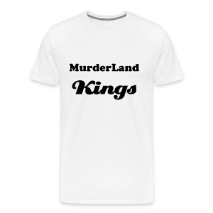 MurderLand Kings (White/Black) - Men's Premium T-Shirt