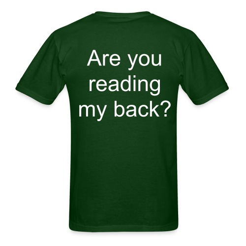 Back - Men's T-Shirt
