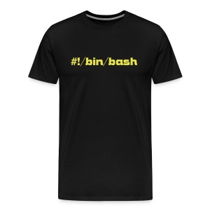 #!/bin/bash - Men's Premium T-Shirt