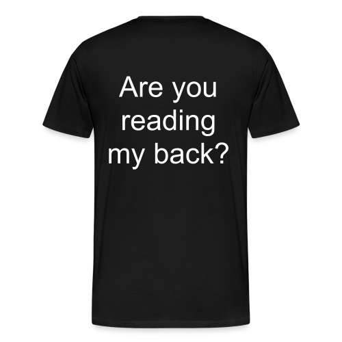 Back - Men's Premium T-Shirt
