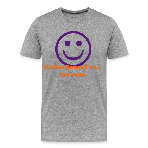 Gray/Purple - Men's Premium T-Shirt