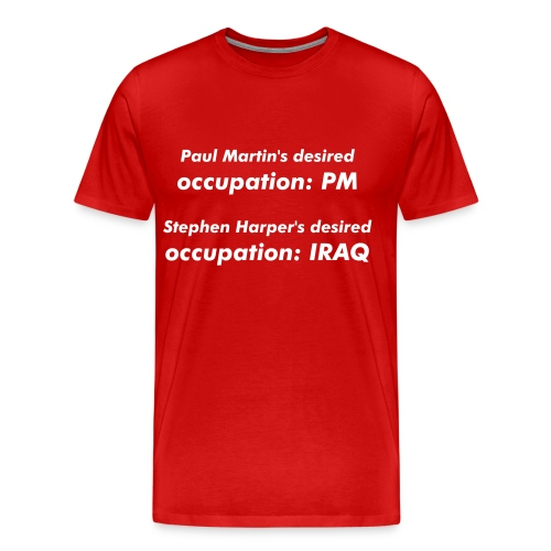 Occupation: Iraq - Men's Premium T-Shirt