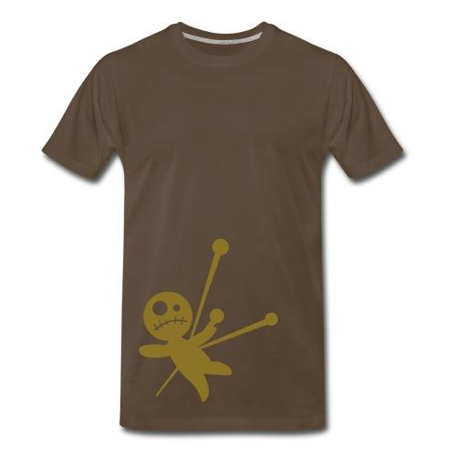 Brown/Gold Voodoo Baby Shirt - Men's Premium T-Shirt